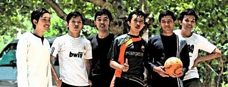 Geometri's futsal team
